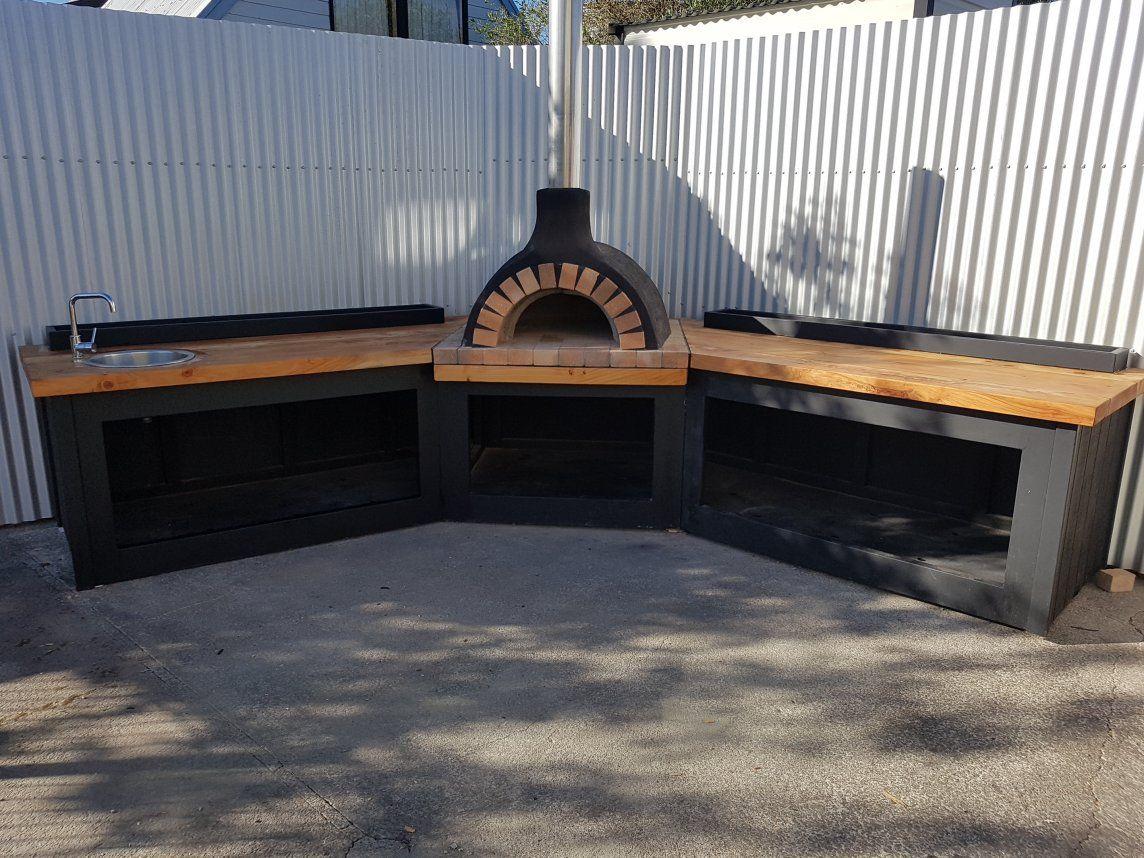 Outdoor Corner Kitchen By Love Outdoor Kitchens Huis