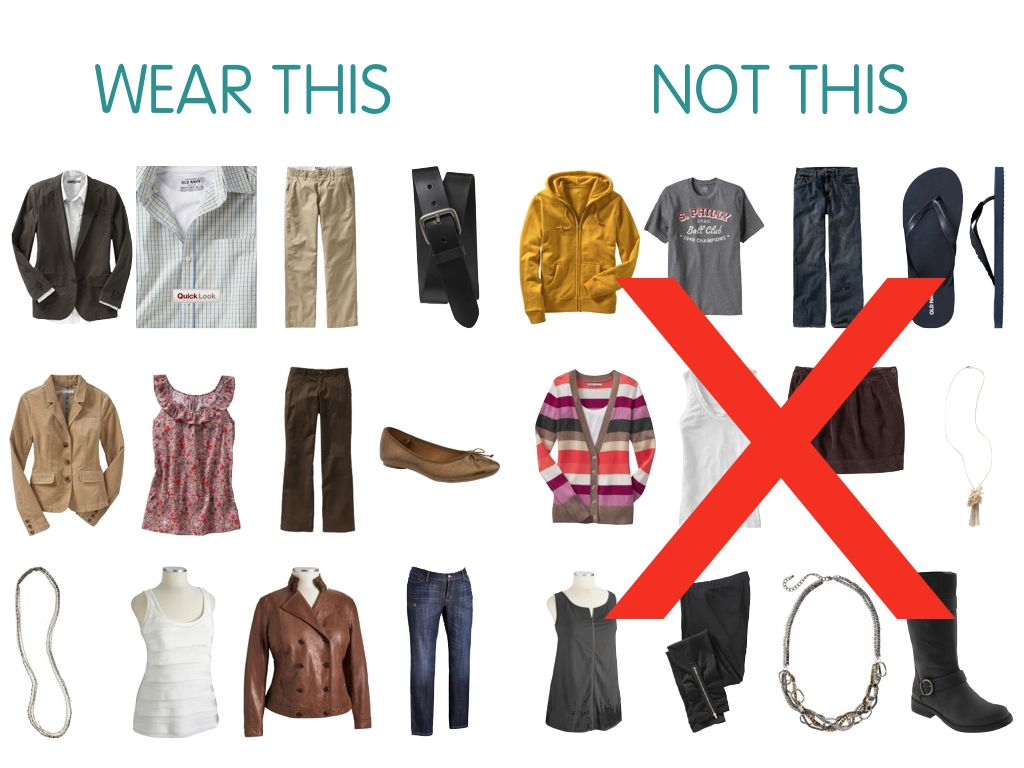 What not to wear to work | Dress for Success | Outfits ...