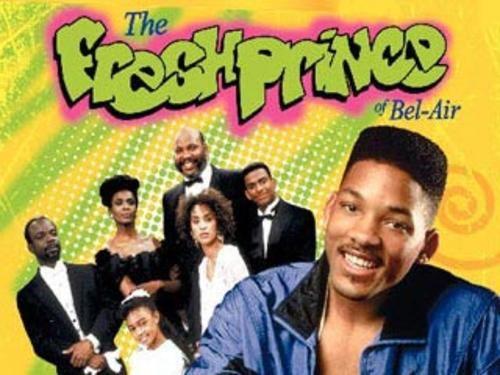 El príncipe del Rap...fue el programa que catapultó a Will Smith a la fama con su carísmatico personaje, Will se va vivir con su familia de Bel Air en donde todo es orden y diciplina hasta que él llega a cambiarlo todo con su loca y despreocupada personalidad, se extrañan los shows como este♥