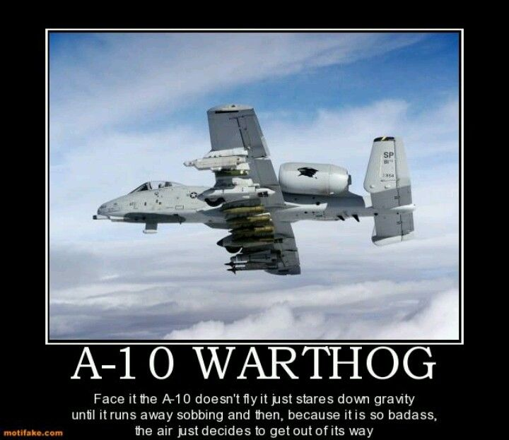 A-10 Warthog | Military Coolness | Pinterest | Planes ...