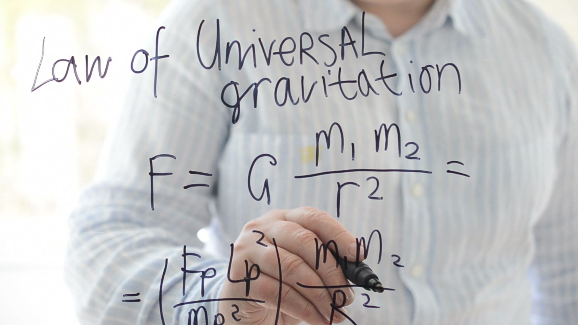 Law Of Universal Gravitation Formula Gravity Law