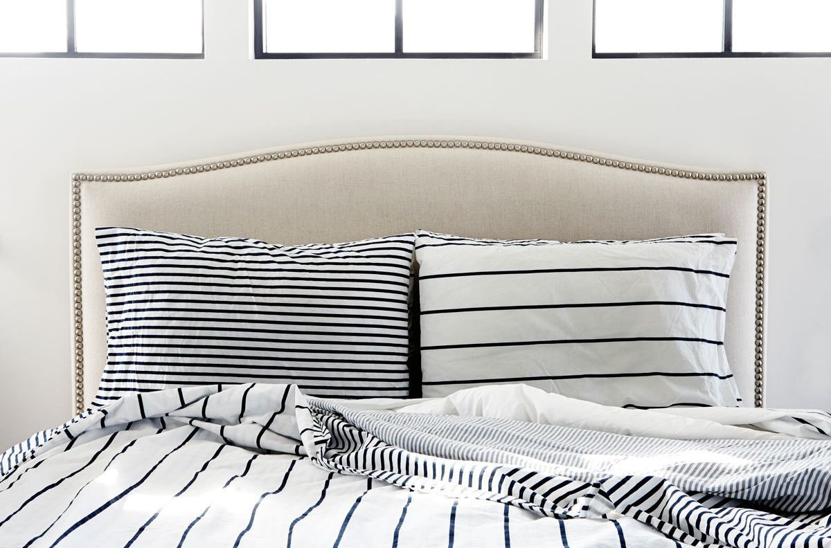 Striped Sheets And Pillowcases Symphony In Neutrals