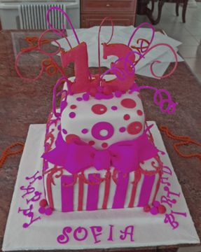 picture of Birthday cake for girls