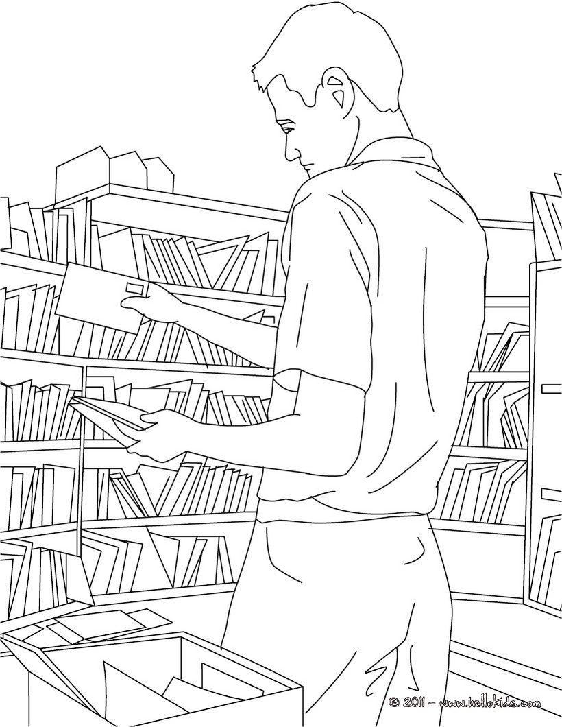 Mail Coloring Pages