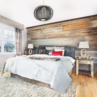 Chambre rustique comme au chalet chambre inspirations décoration et rénovation pratico pratique