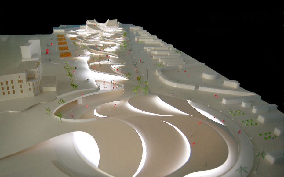 JDS Architects Rimini Waterfront Architectural Models