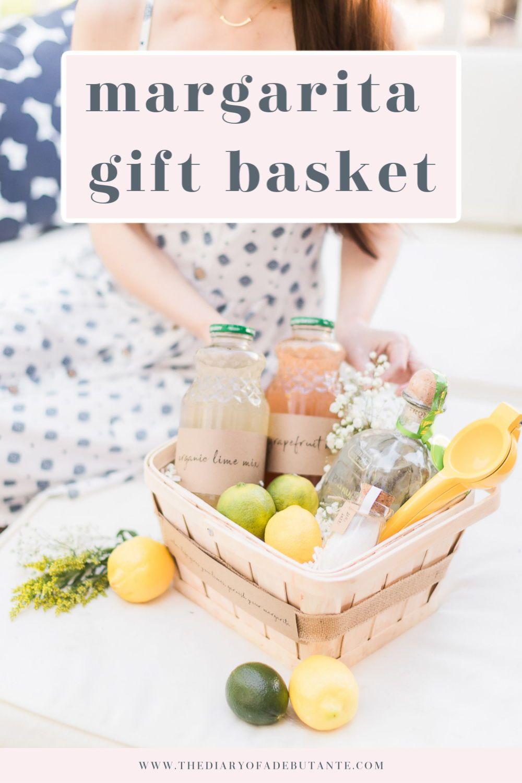 Diy margarita gift basket classic margarita recipe in