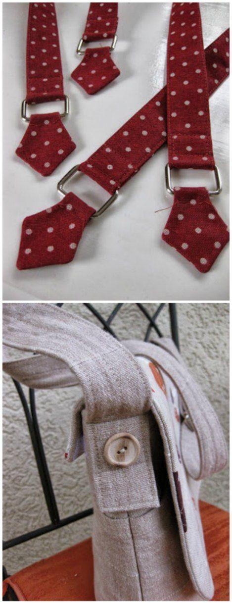 Cómo hacer las manijas perfectas para bolsas: #el #manufactura #man #perfecto …