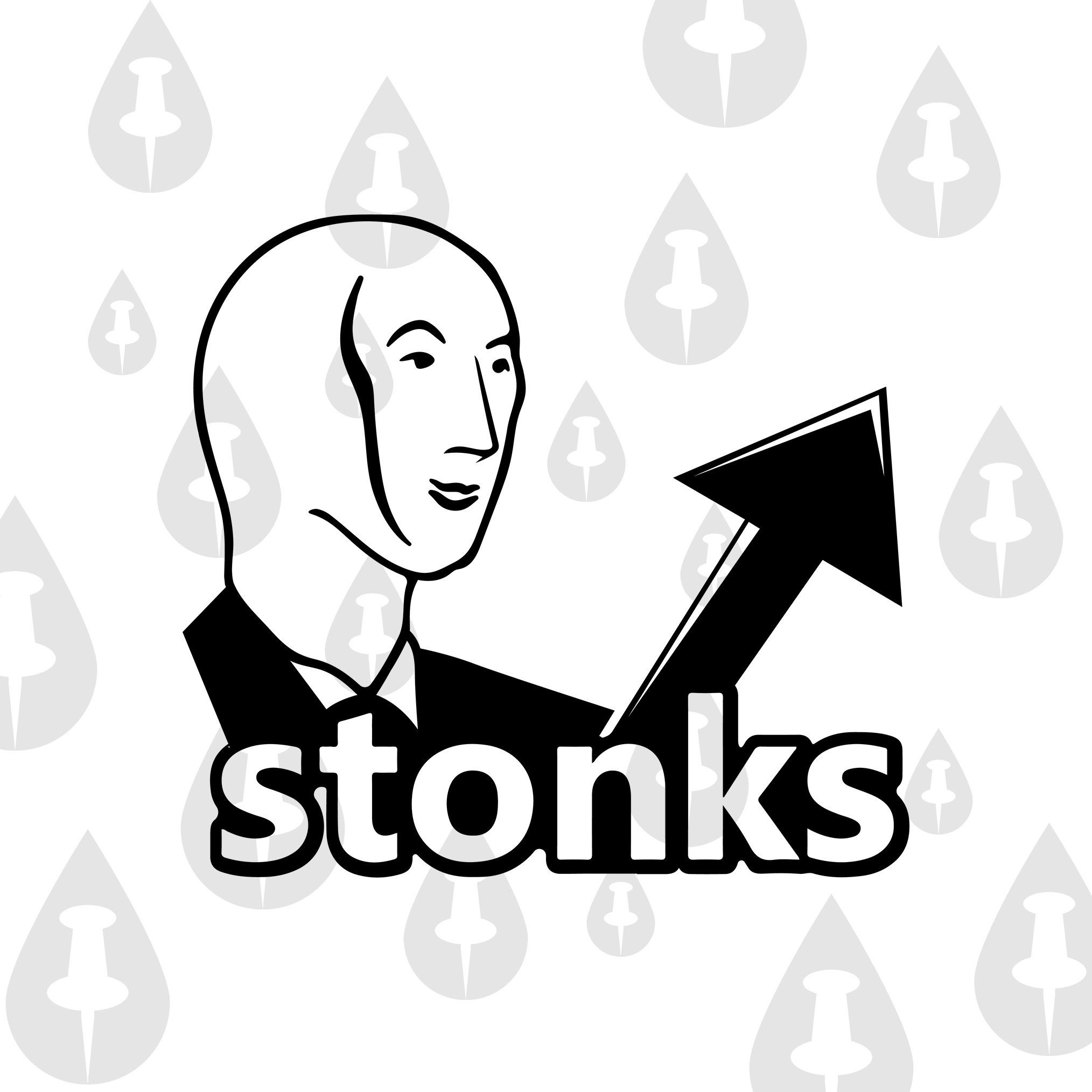 Stonks Funny Meme Svg Logo And Face Gme Gamestop Amc Etsy In 2021 Funny Memes Classic Memes Memes