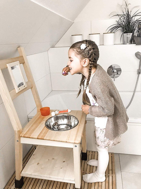 Deskiturm Kinderwaschstuhl Waschstuhl Waschtisch Kinder