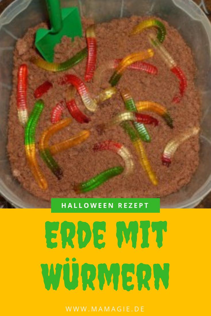 Halloween Rezept für gruseligen Nachtisch