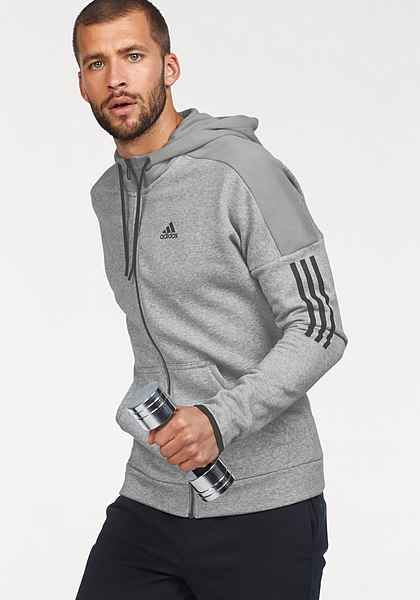 Oficial miembro Obstinado  adidas Performance Trainingsjacke »MEN SOLID LOGO FULLZIP FLEECE« |  Sportswear outfits, Mens pants fashion, Sports wear fashion