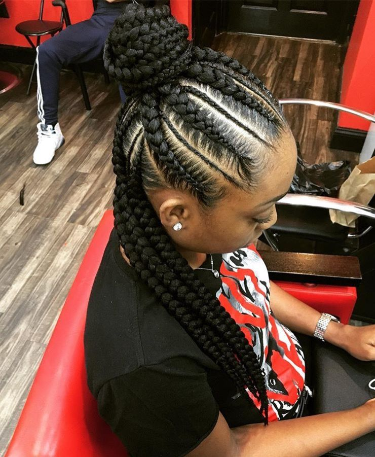 Hair Image By Sapora Feed In Braids Hairstyles Natural