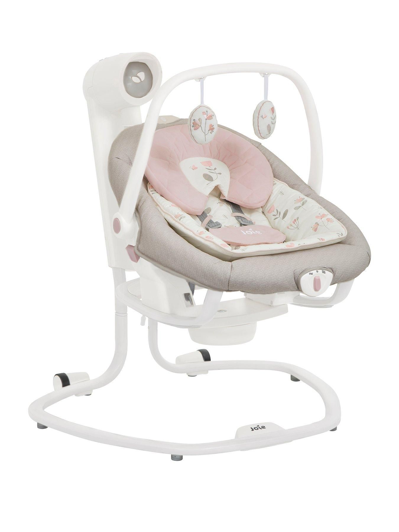 Joie Baby Swing Rocker Joie Joie Serina 2 In 1 Swing Rocker Forever Flowers
