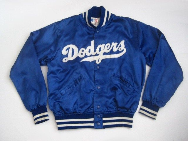 Vintage Los Angeles Dodgers Mlb Jacket Made By Felco