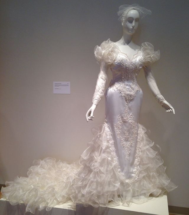 This Bridal Gown By San-Martin International Bridal Circa