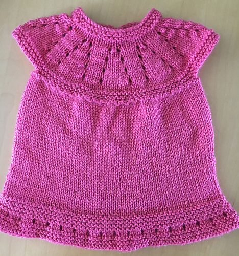 465de1f0520f Ravelry  Lazy Daisy All-in-One Baby Dress pattern by marianna mel ...