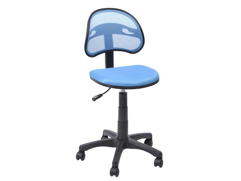 Chaise Bureau Conforama Chaise Dactylo Azalie Coloris Bleu Vente De Fauteuil De Bureau Chair Office Chair Furniture