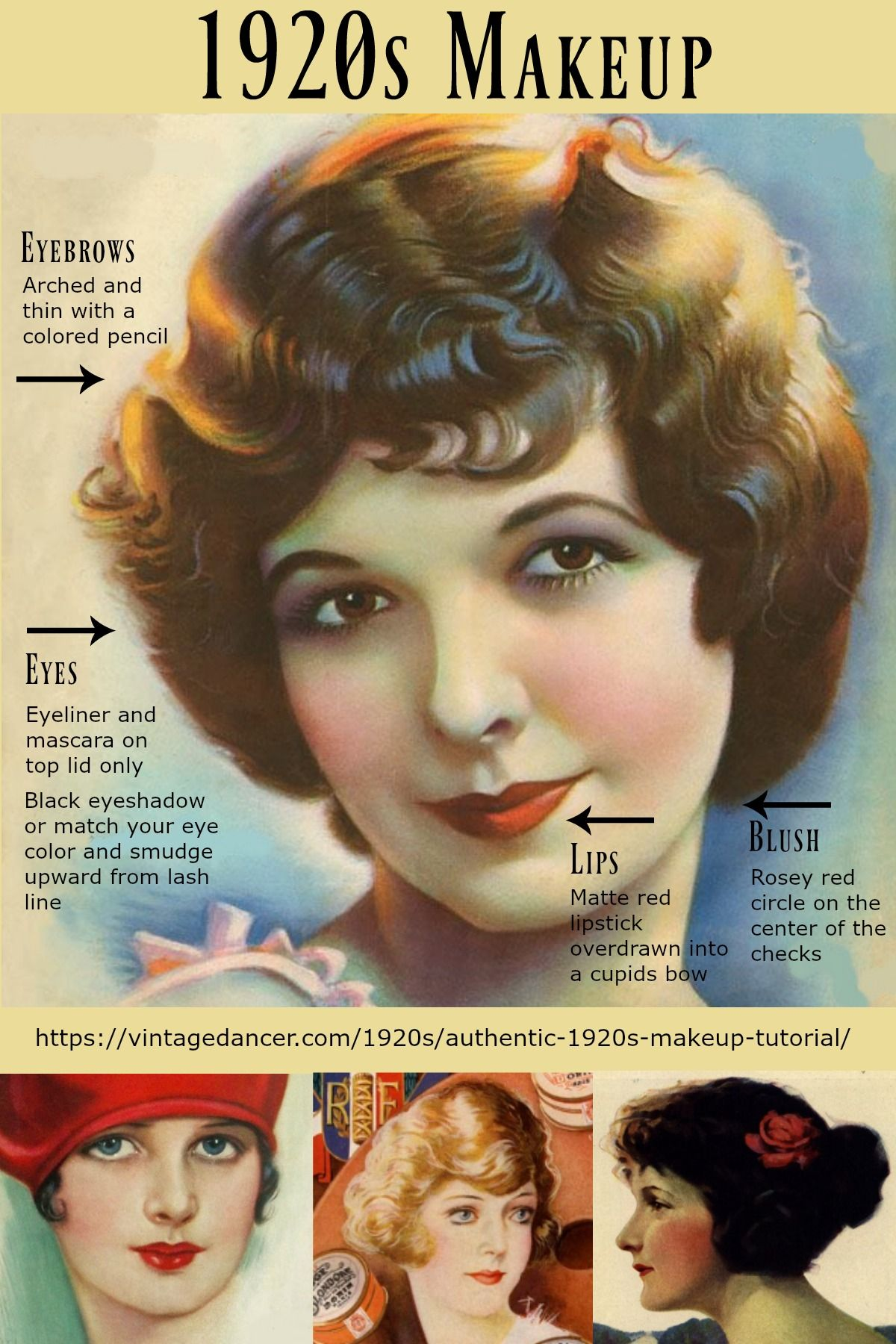 Authentic 1920s Makeup Tutorial