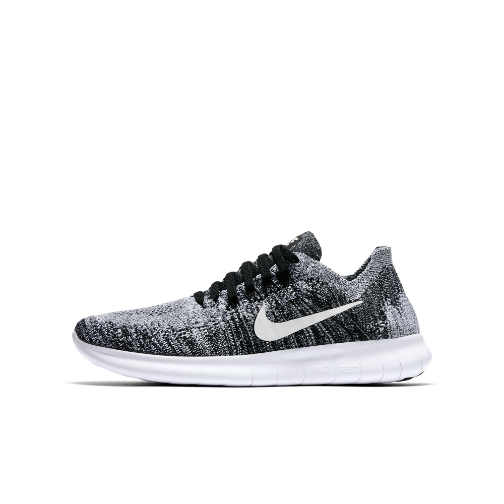 39d1024b731c Nike Free RN Flyknit 2017 Big Kids  Running Shoe Size 4.5Y (Black ...