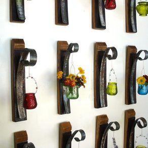 """Wine Barrels wall hangings"