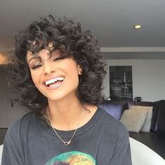 Short Hairstyles For Curly Hair New Simple Hairstyles For Short Curly Hair  Style  Pinterest  Short