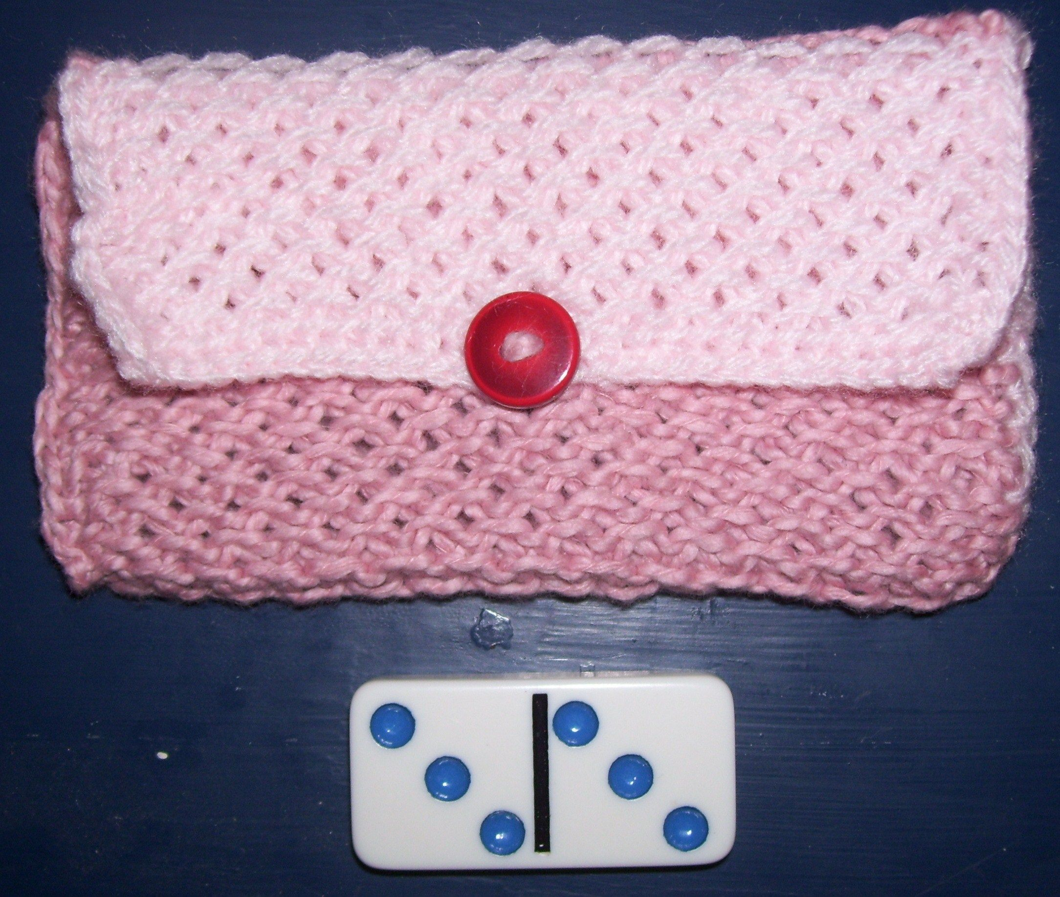 Knit wallet free pattern