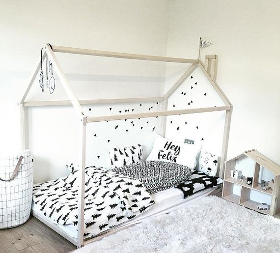 Frame Bed Is An Amazing Scandinavian Design House Bed For Children Where  They Can Sleep And Play. This Adorable Bed Home Will Make Transitioning  From A Baby ...