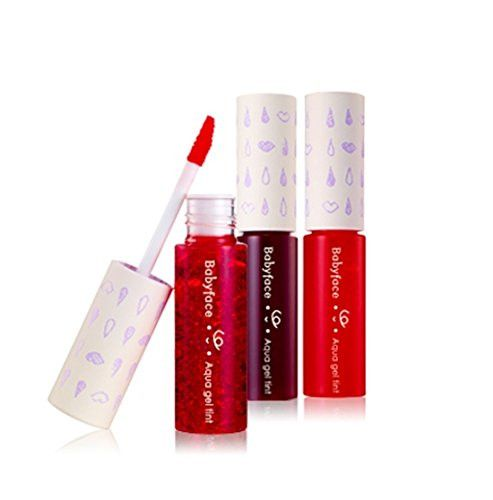 Babyface aqua gel tint #01. Cherry, Korean Cosmetics, Christmas gift