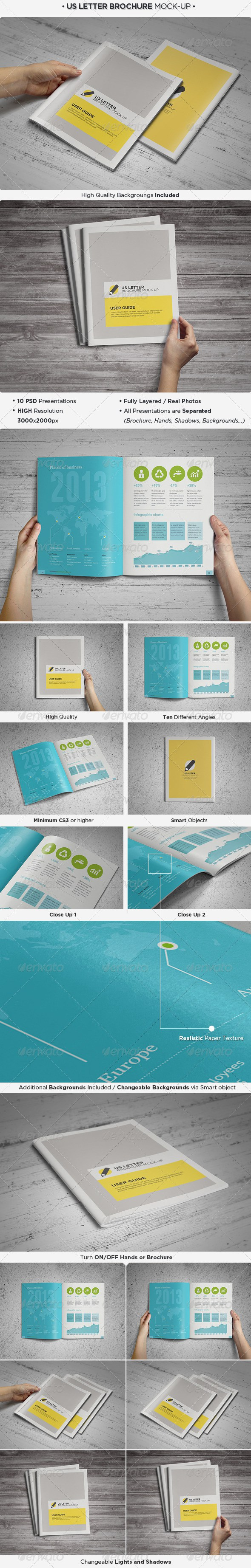 Free Booklet Template Prepossessing Us Letter Brochure Catalog Mockup  Psd Mockups  Pinterest  Free .