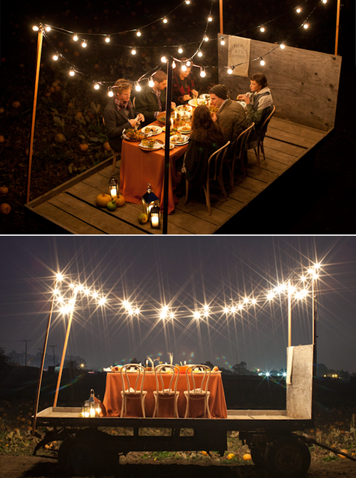 Pop up dinner party one way to make a last minute pop up for Luces patio exterior
