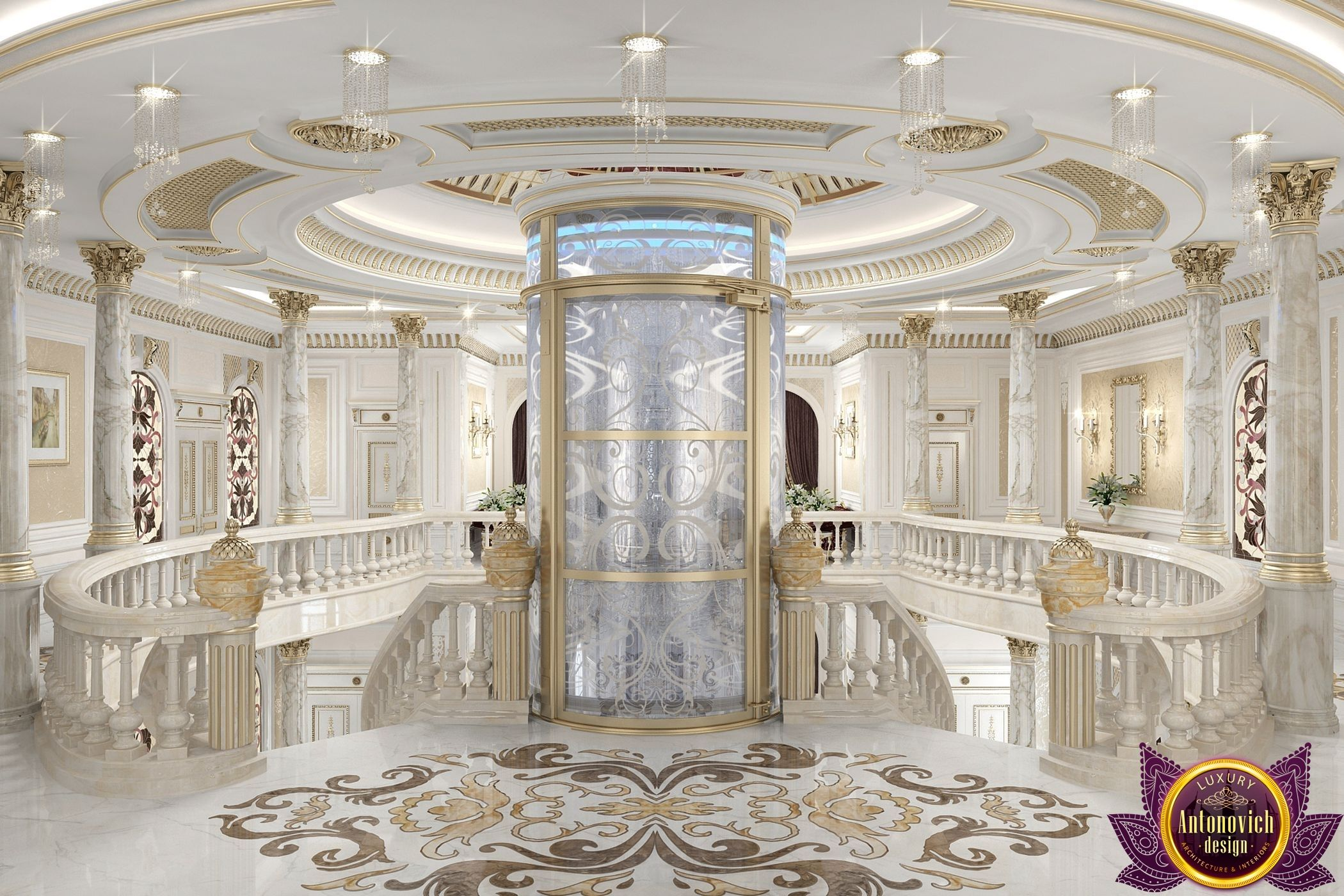 Villa Interior Design In Dubai Luxury Villa Design