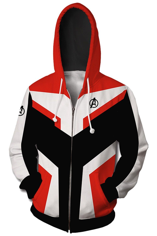 Suit Avengers Infinity War Iron Man Hoodie Sweatshirt Jacket Coat Tops Pants Set
