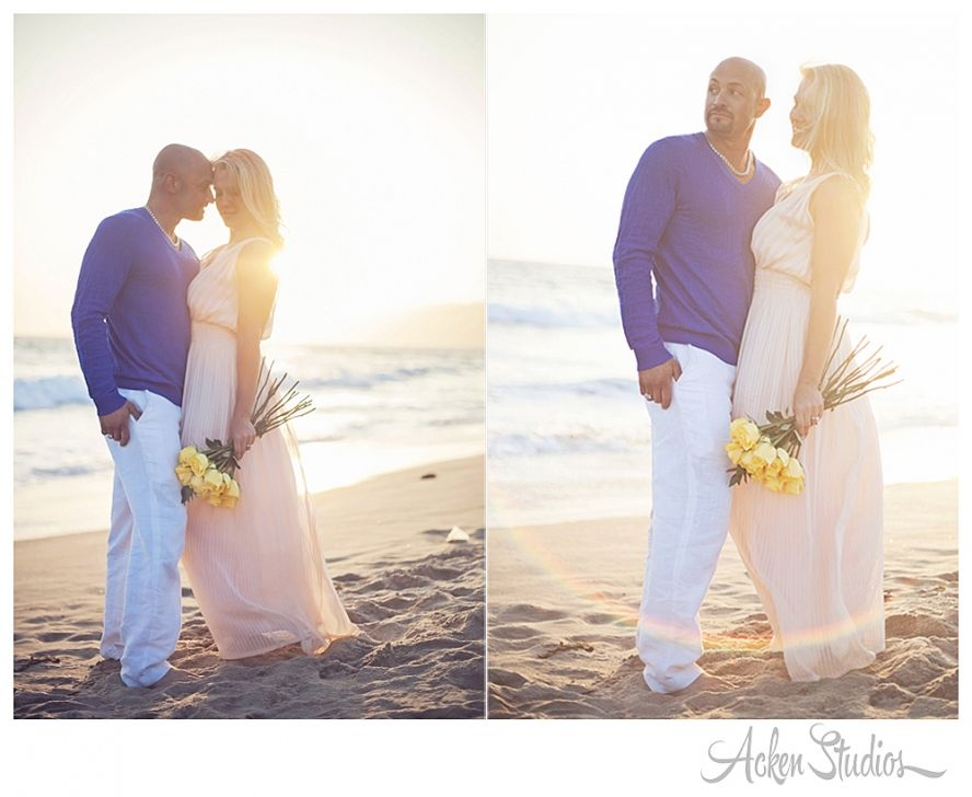 Santa Monica Engagament Photos   Acken Studios  Photos of our friends Jenn & Dave <3
