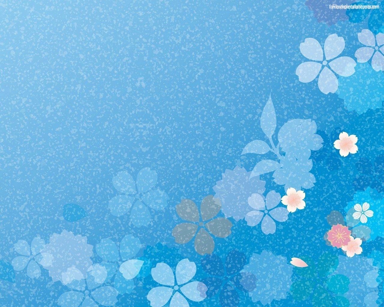 Fondos De Pantalla De Perros Wallpapers Hd: Wallpapers De Flores Azules Para Fondo De Pantalla En Hd