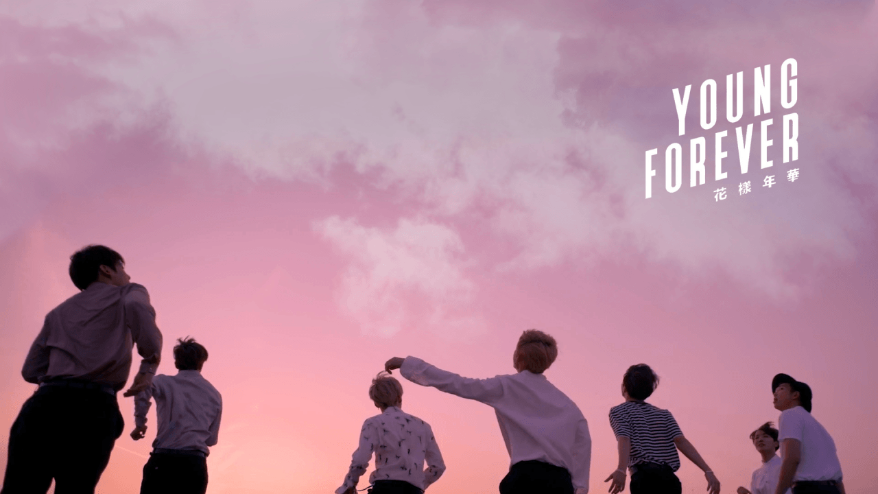 1280x720 Lets Keep Going Forever Bts Wallpaper Bts Young Forever Bts Wallpaper Desktop