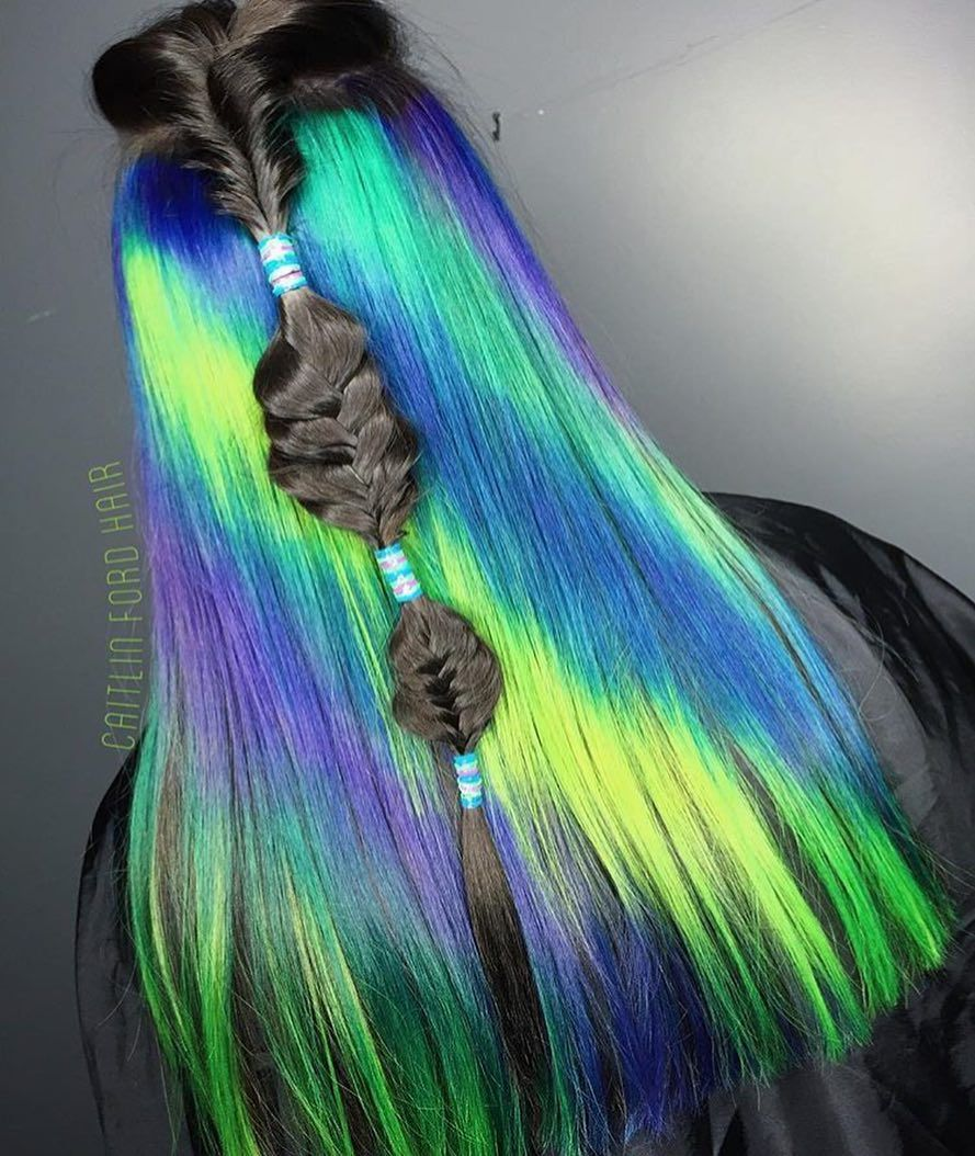 Youure going to love this colorful hair page of colorful