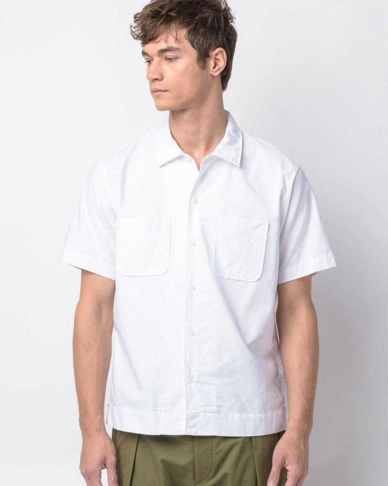 Byron Shirt in White Oxford