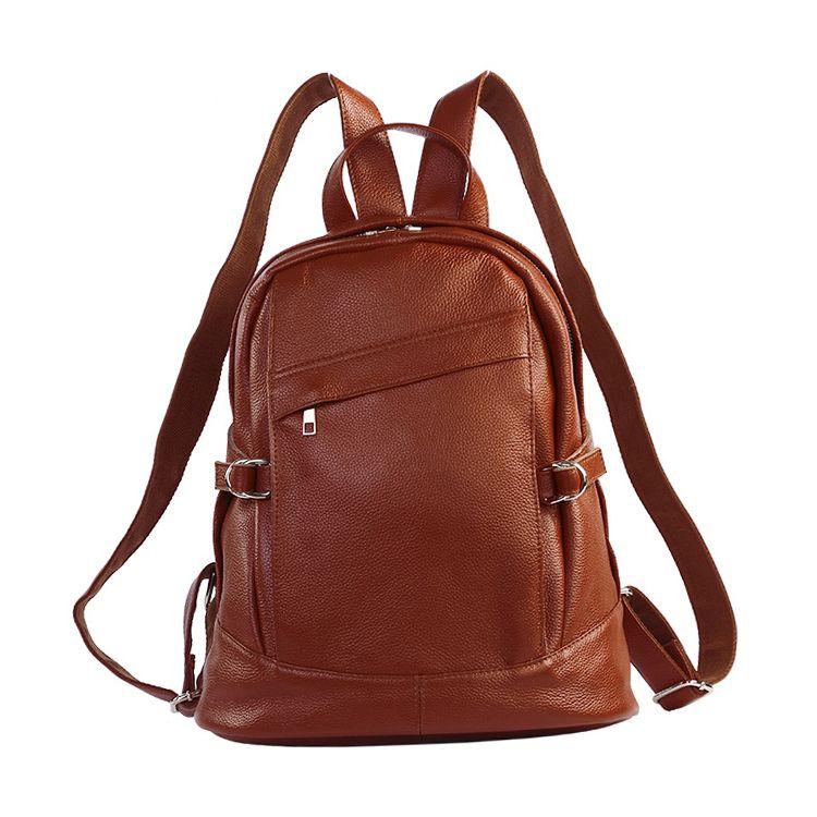 6fc76c6db Mochilas de cuero marrón grande online con el precio de outlet bolsos de  moda [AL93016] - €85.75 : bzbolsos.com, comprar bolsos online
