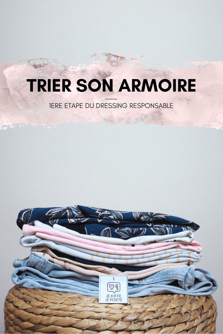 Premiere Etape Pour Avoir Un Dressing Responsable Trier Son
