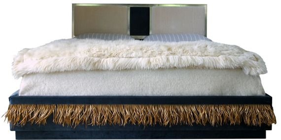 Kinolux bed by Moises Esquenazi - very groovy