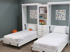 Murphy Bed Systems Two Twin