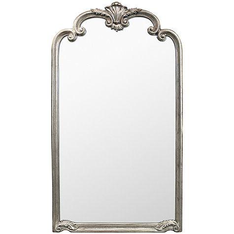 Palazzo Lean Mirror Silver 184 X 104cm Leaner Mirror Mirror