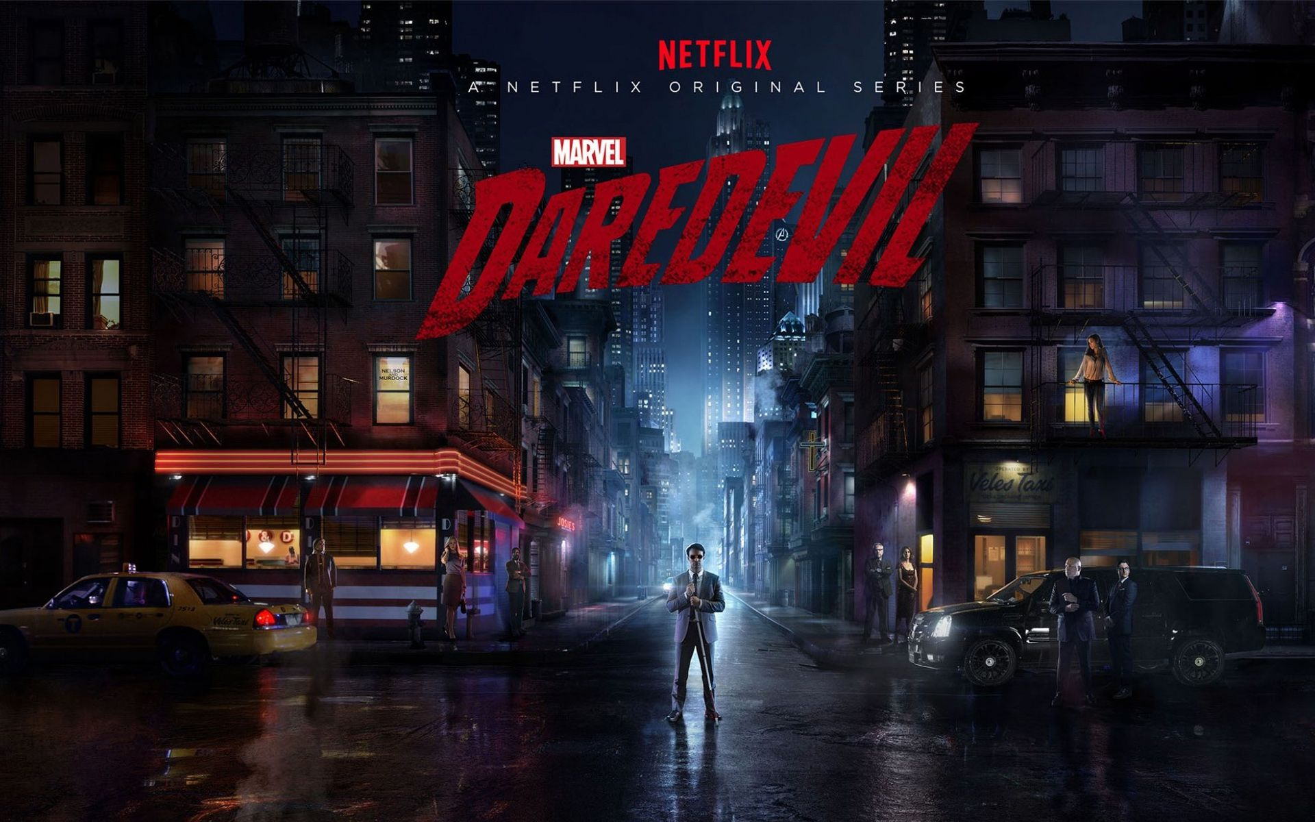 Daredevil 2015 Tv Series Wallpapers Hd Wallpapers
