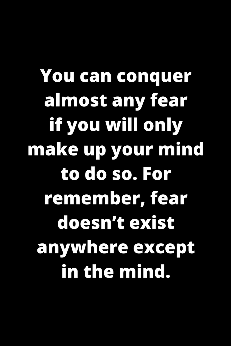 Fear Quotes Awesome 100 Fear Quotes To Crush Your Fears  Psychology Related Posts