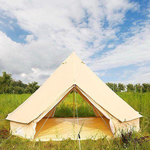 DANCHEL 4-Season Family Tent Cotton Tents Tipi 4M/ 13.1 Feets & DANCHEL 4-Season Family Tent Cotton Tents Tipi 4M/ 13.1 Feets ...