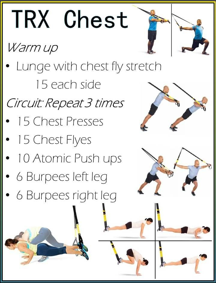 TRX Chest Workout