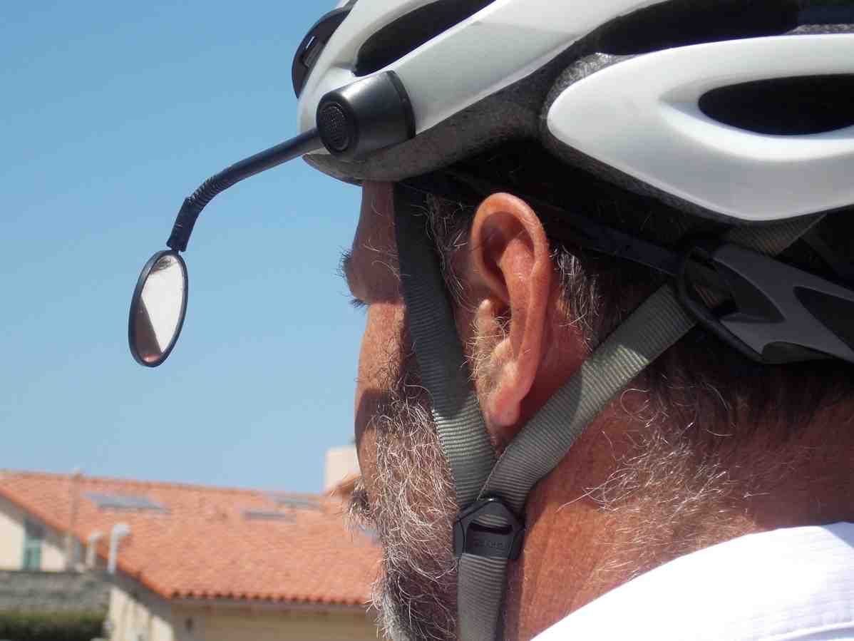 Bicycle Helmet Rear View Mirror Espelho Retrovisor Bicicleta