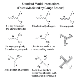 Standard Model Mathematical Formulation Interactions The Above Interactions Show Some Basic Interaction V In 2020 Feynman Diagram Modern Physics Advanced Physics