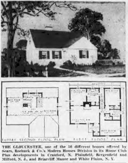 Yes Virginia Sears Homes Were Built After 1940 For The Home Pinterest Prefab Small